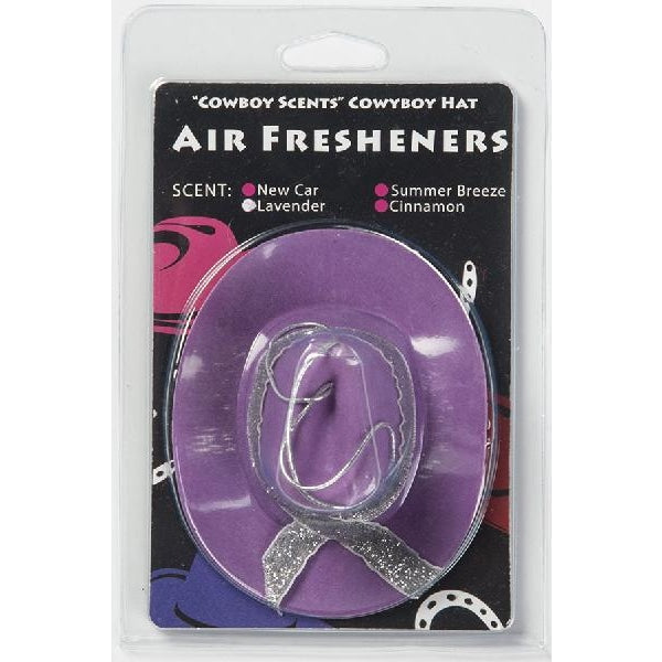 Cowboy Hat Air Freshener - Purple - Accessory