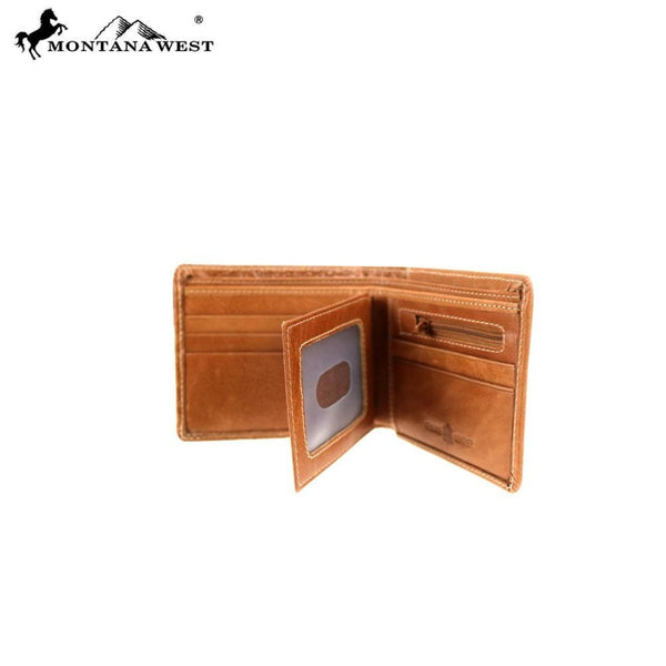 Genuine Leather Alligator Design Collection Mens Wallet - Mens