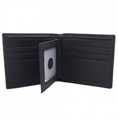 Genuine Leather Western Cow Hide Mans Short Wallet - Wallets & Watches