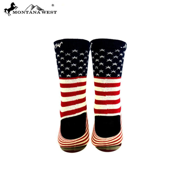 Montana West American Pride Collection Socks - Accessories