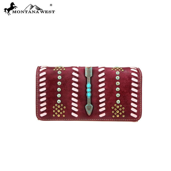 Montana West Aztec Collection Wallet/wristlet - Bags & Purses