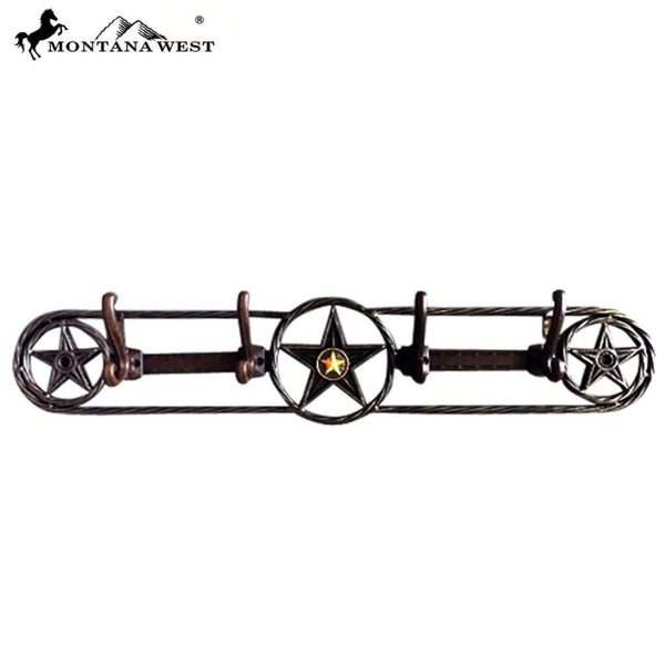 Montana West Metal Lone-Star Coat Hooks - Lifestyle