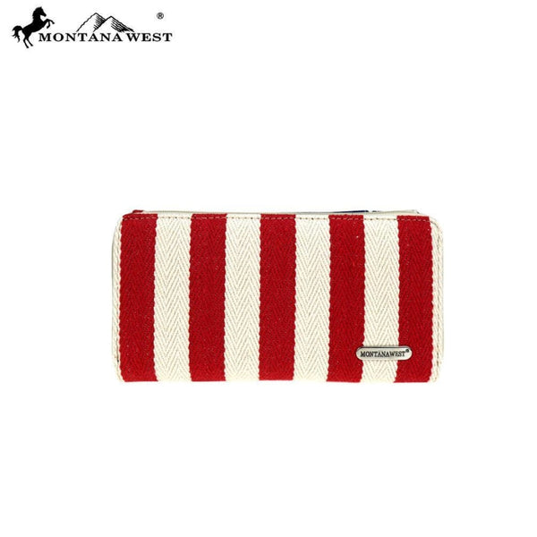 Montana West Patriotic Collection Secretary Style Wallet - Bags & Purses