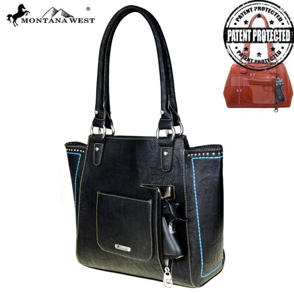 Montana West Pistol Collection Concealed Handgun Tote - Bags & Purses