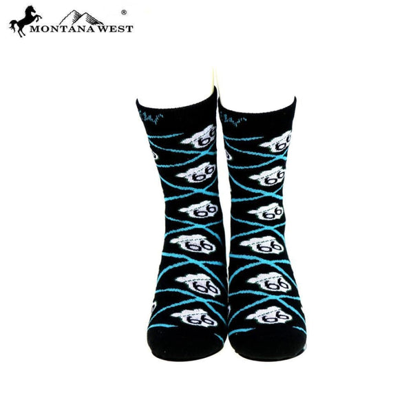 Montana West Route 66 Collection Sock Assorted Colour - Black - Accessories