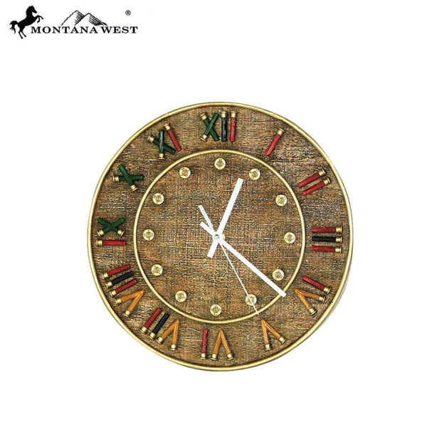 Montana West Shortgunshell Wall Clock - Lifestyle