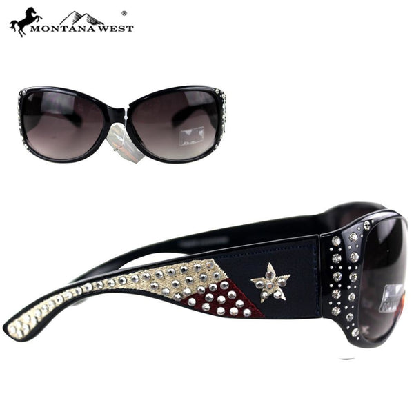 Montana West Texas Collection Sunglasses - Womens Accessories