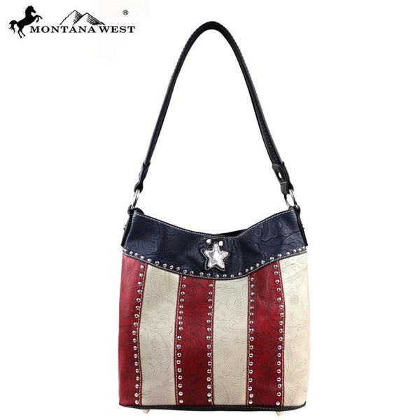 Montana West Texas Pride Collection Handbag ( 2 In 1) - Accessories