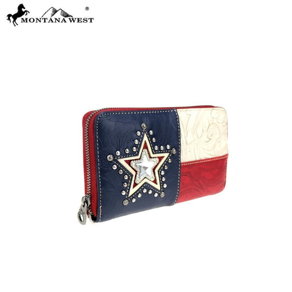 Montana West Texas Pride Collection Wallet - Accessories