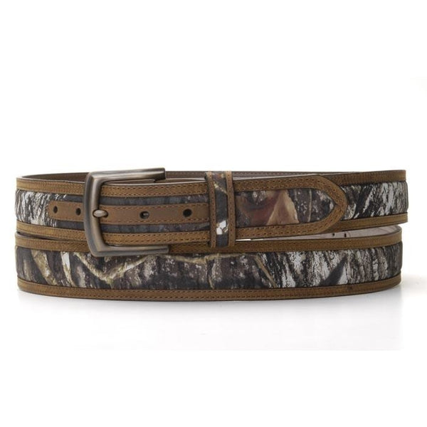 Mossy Oak Scalloped Belt With Shotgun Shell Conchos - Belts & Buckles