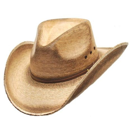 Pinch Front Palm Cowboy Hat - Accessories