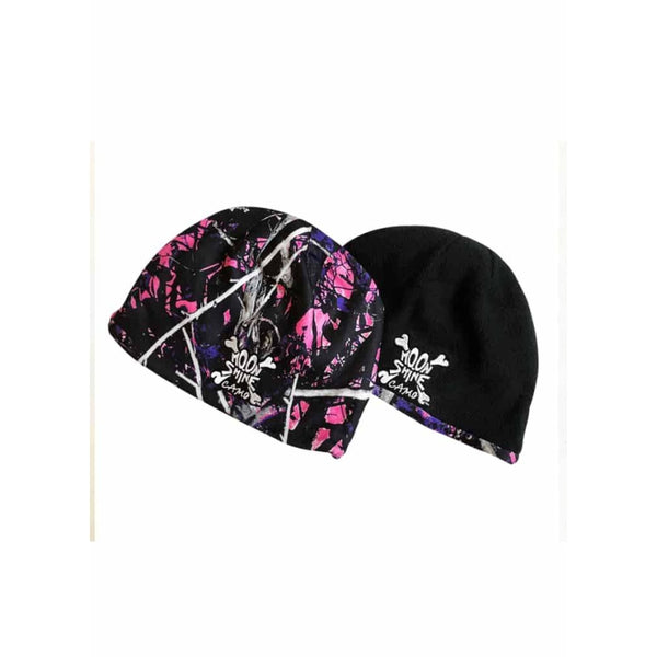 Reversible Fleece Beanie | Muddy Girl Camo - Womens Hats