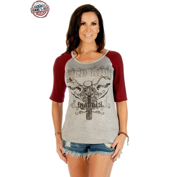 Wild Ride Chopper - Small - Womens Tops