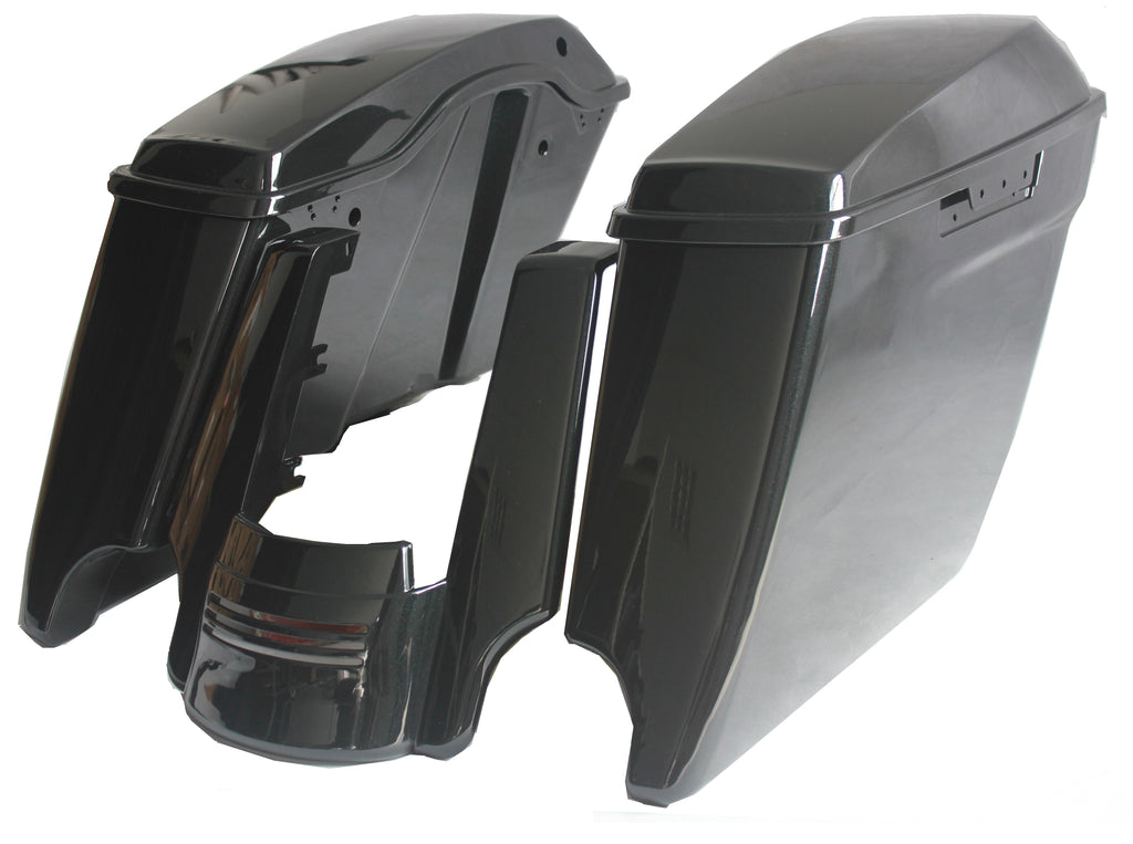 NASTYHOG EXTENDED SADDLEBAGS AND EXTENDED FENDER EXTENSION
