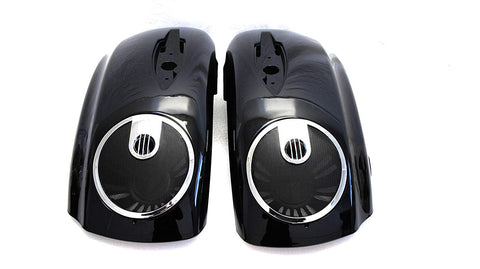 "6.5"" Saddlebag Speaker Lids with Grills for 2014-2017 INDIAN"