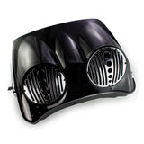"DUAL BAGGER 8/8.8"" SPEAKER LID FOR HARLEY HD TOUR PAK"