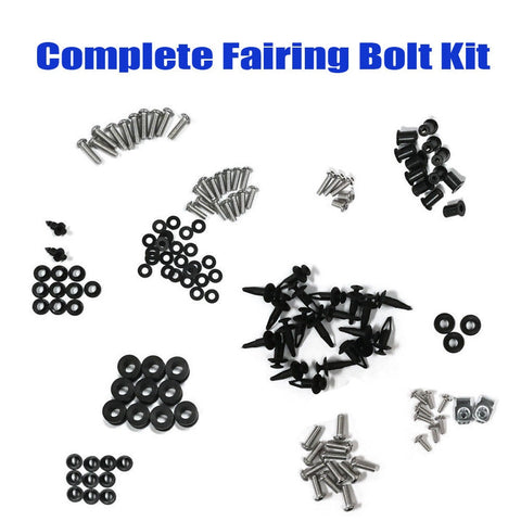 Aluminum Fairing Bolt Kit - Black