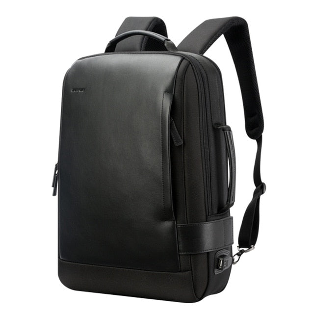 Leather Anti-Theft Backpack