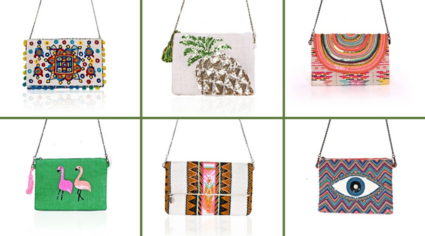 10 Handmade Boho Clutches To Top Off Your Look