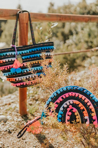 Boho bags and accessories