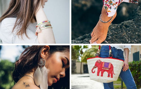 Boho accessories for women