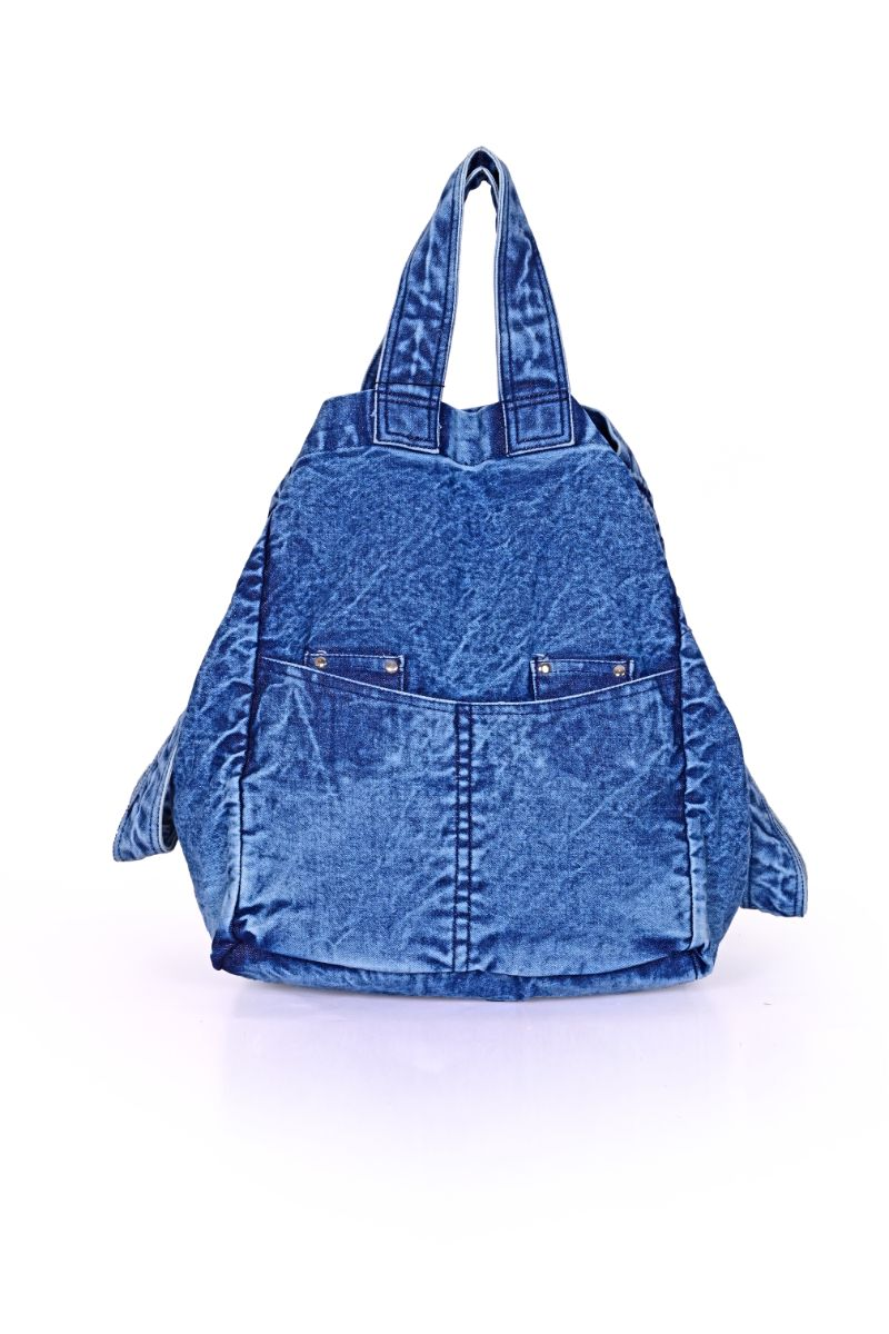 Dress Blues Denim Multi-Purpose Tote