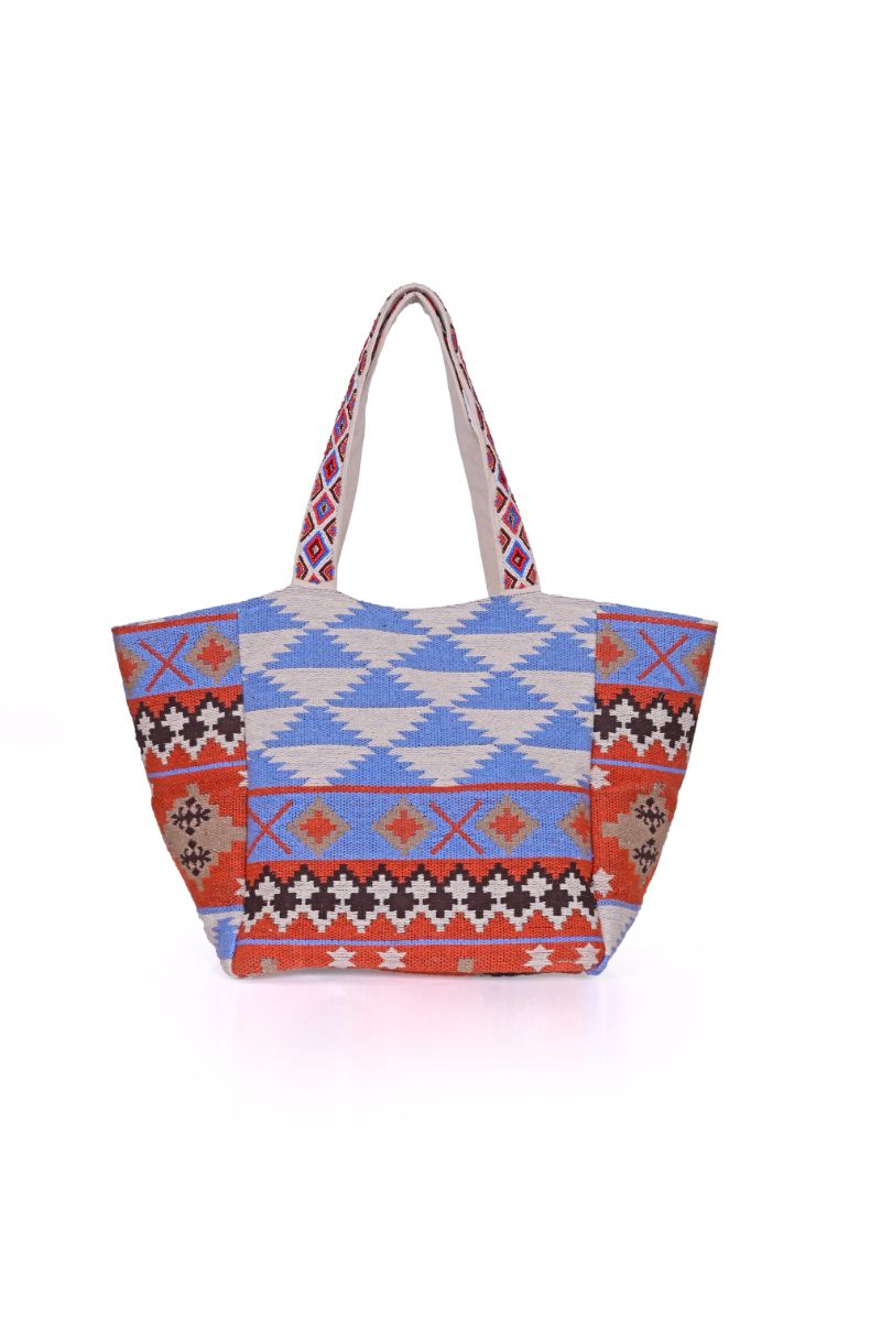 Mazarine Aztec Over-sized Tote
