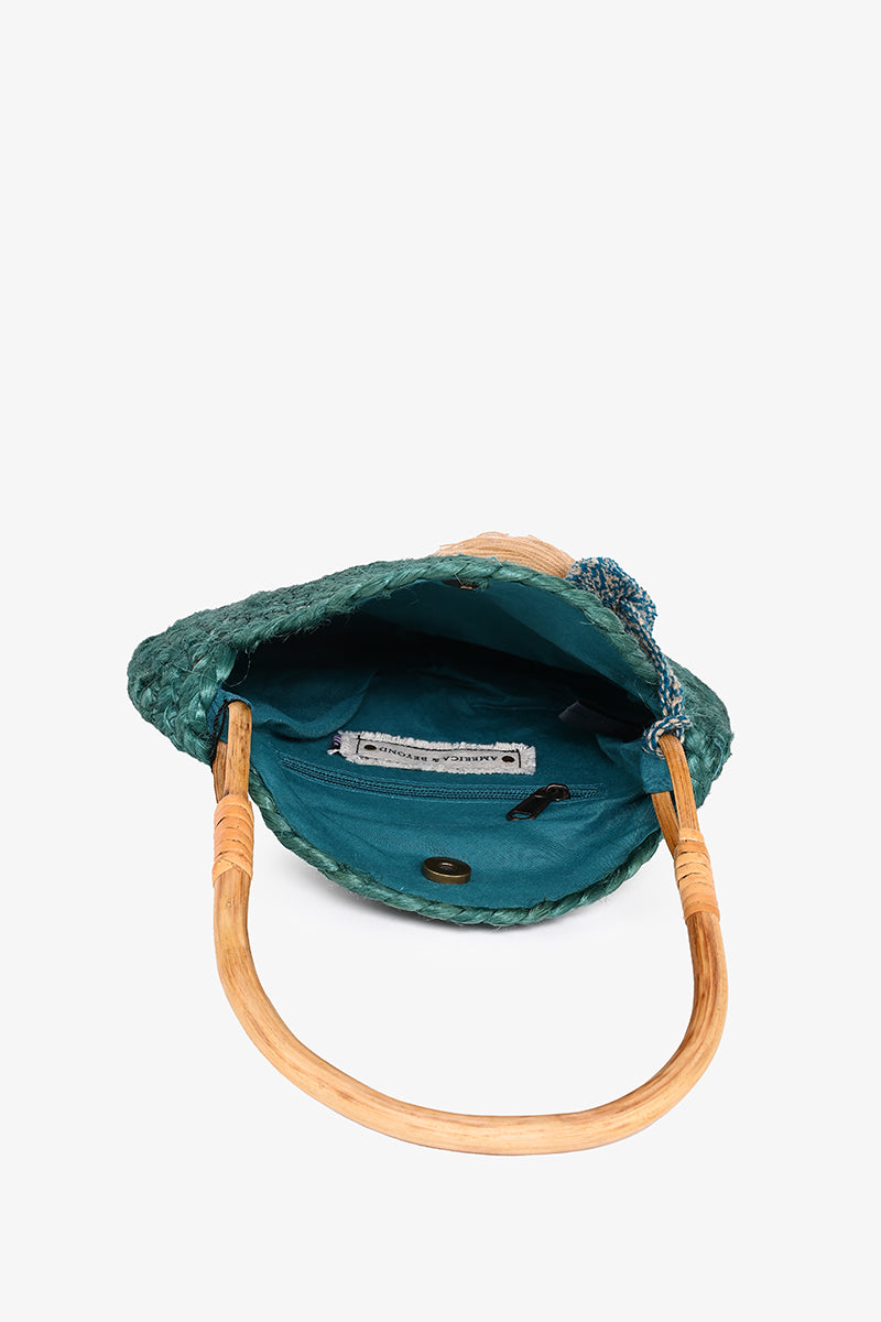 Evergreen Mini Tote