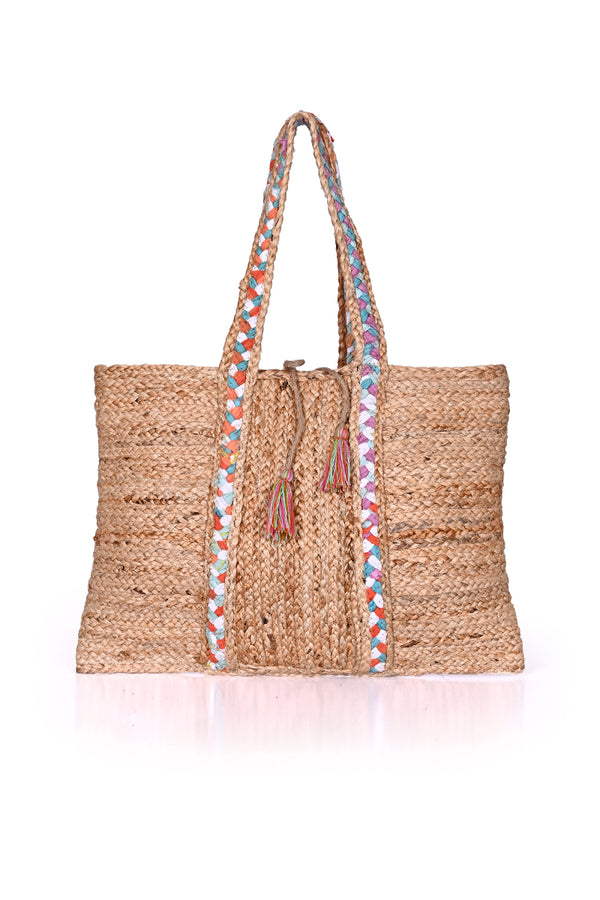 Orchid Chindi Tote