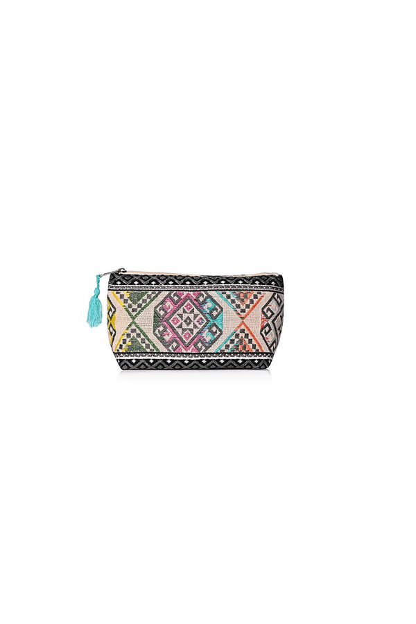 The Make Up Bag in Tribal Tones