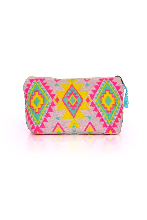 The Make Up Bag in Aztec Awesome
