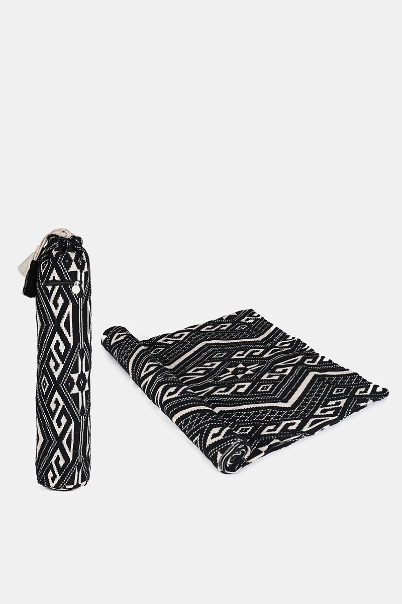 Gray Dawn Yoga Bag and Yoga Mat