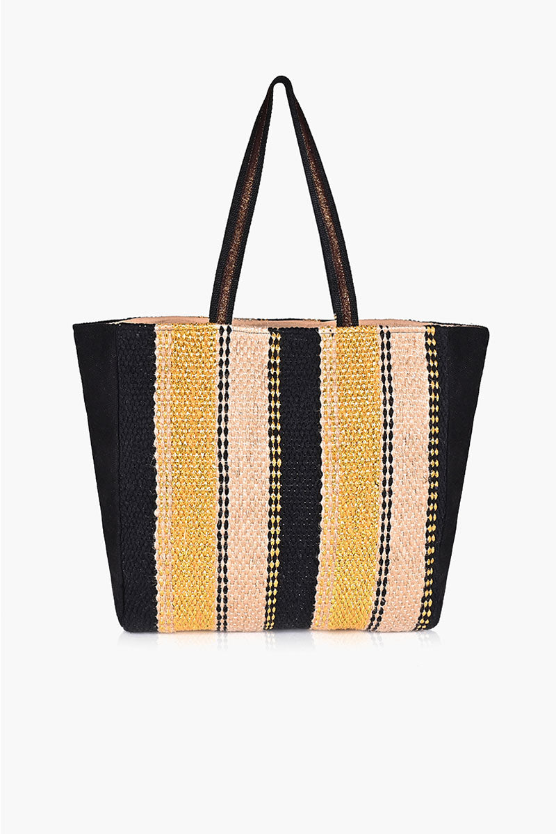 Copper Craft Striped Tote