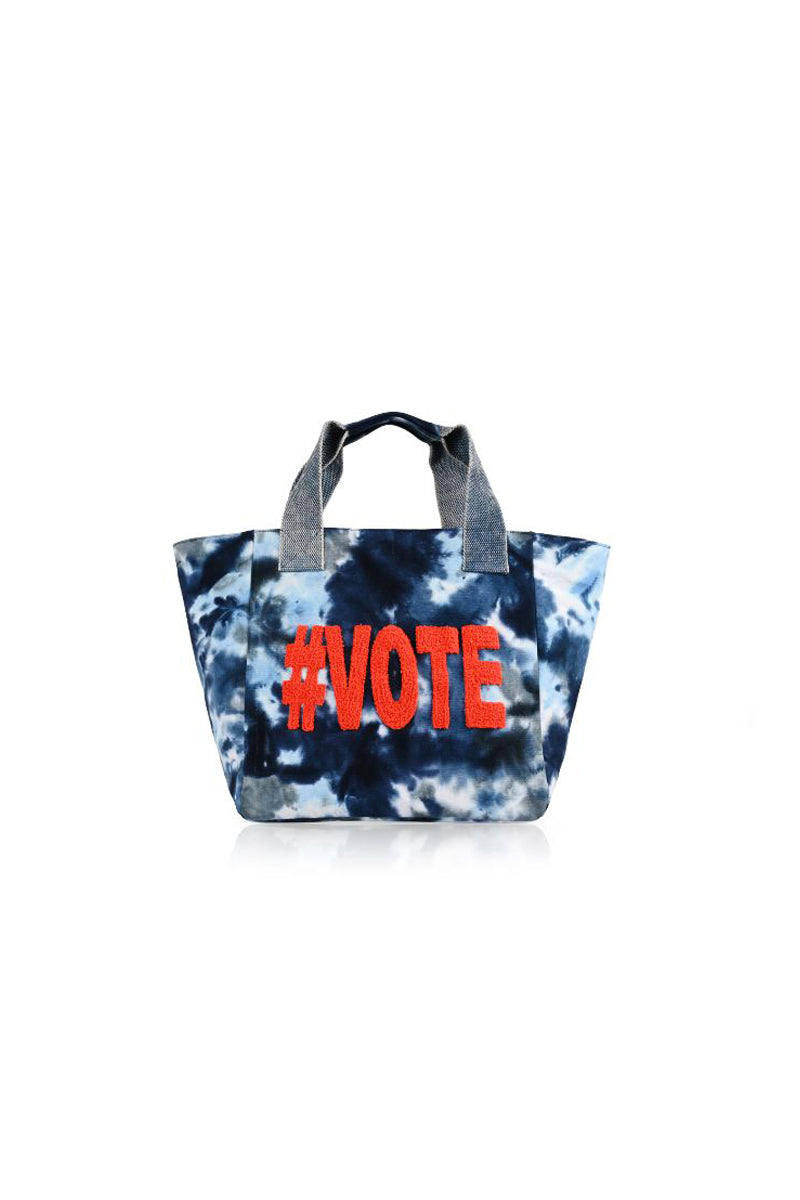 Blue Vote Your Voice Tote