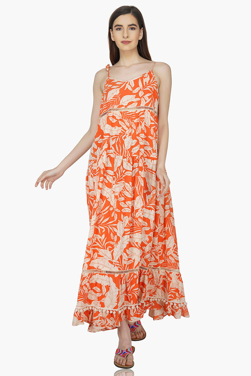 Spring Sunset Maxi Dress
