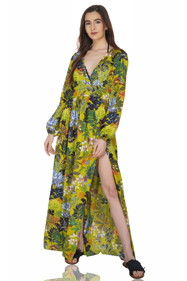 Havana Cress Maxi Dress