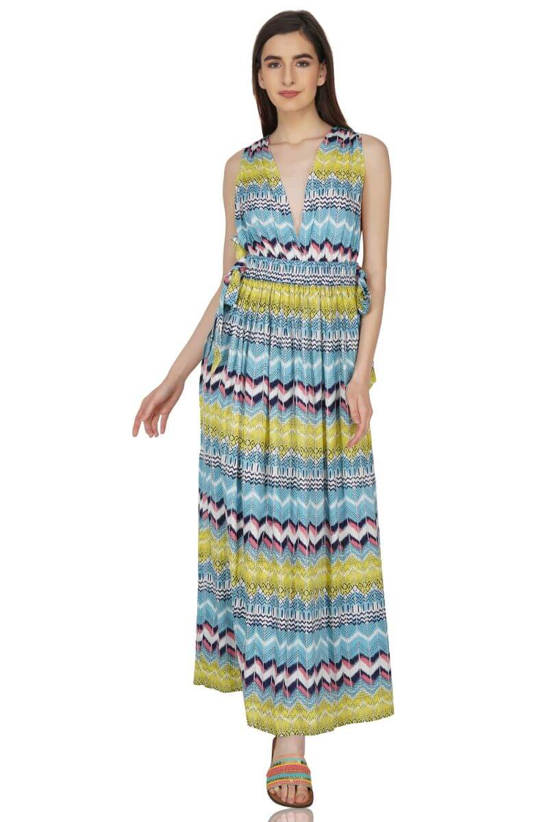 Spanish Beauty Maxi Dress Cover Up