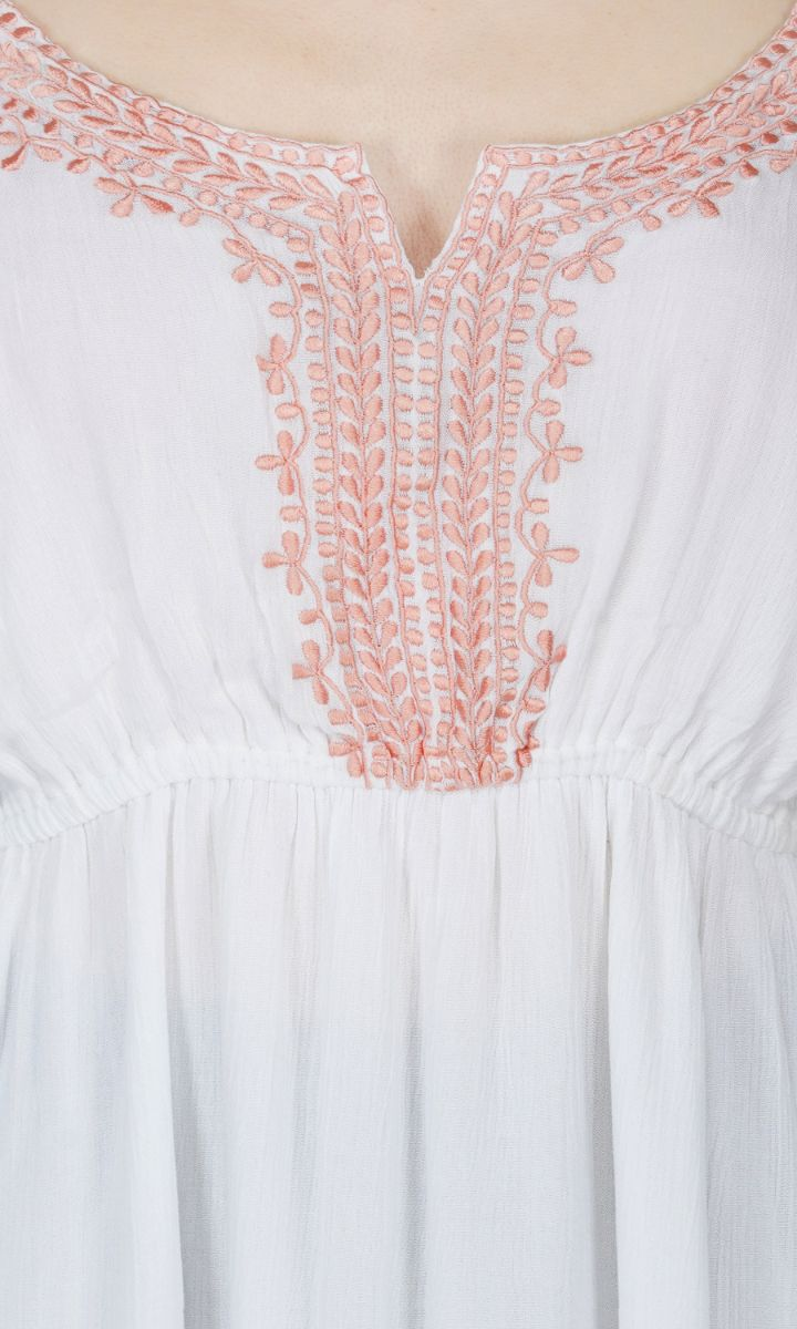 Peaches & Cream Sun Dress