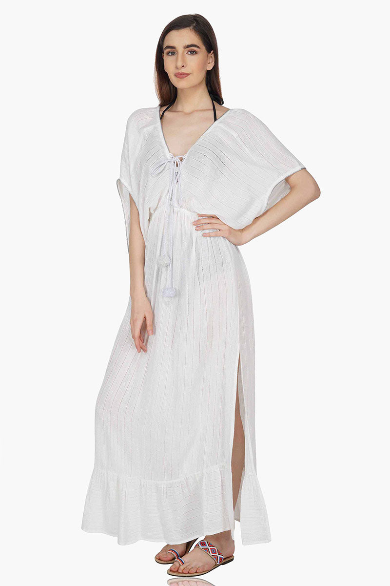 Mythic Grecian Goddess Flowy Maxi Dress