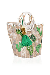 Prickly Cacti Beach Bag