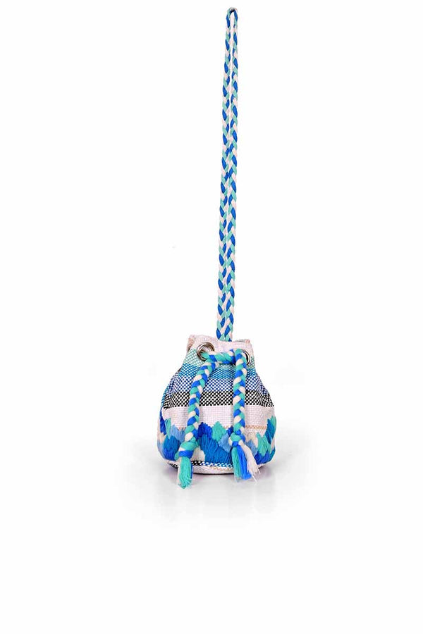 Ocean Wave Bucket Bag