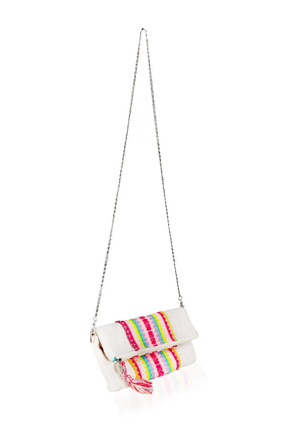 Tutti Frutti Fold-over Clutch