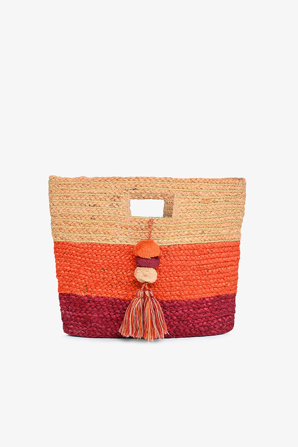 Burning Sun Bucket Bag