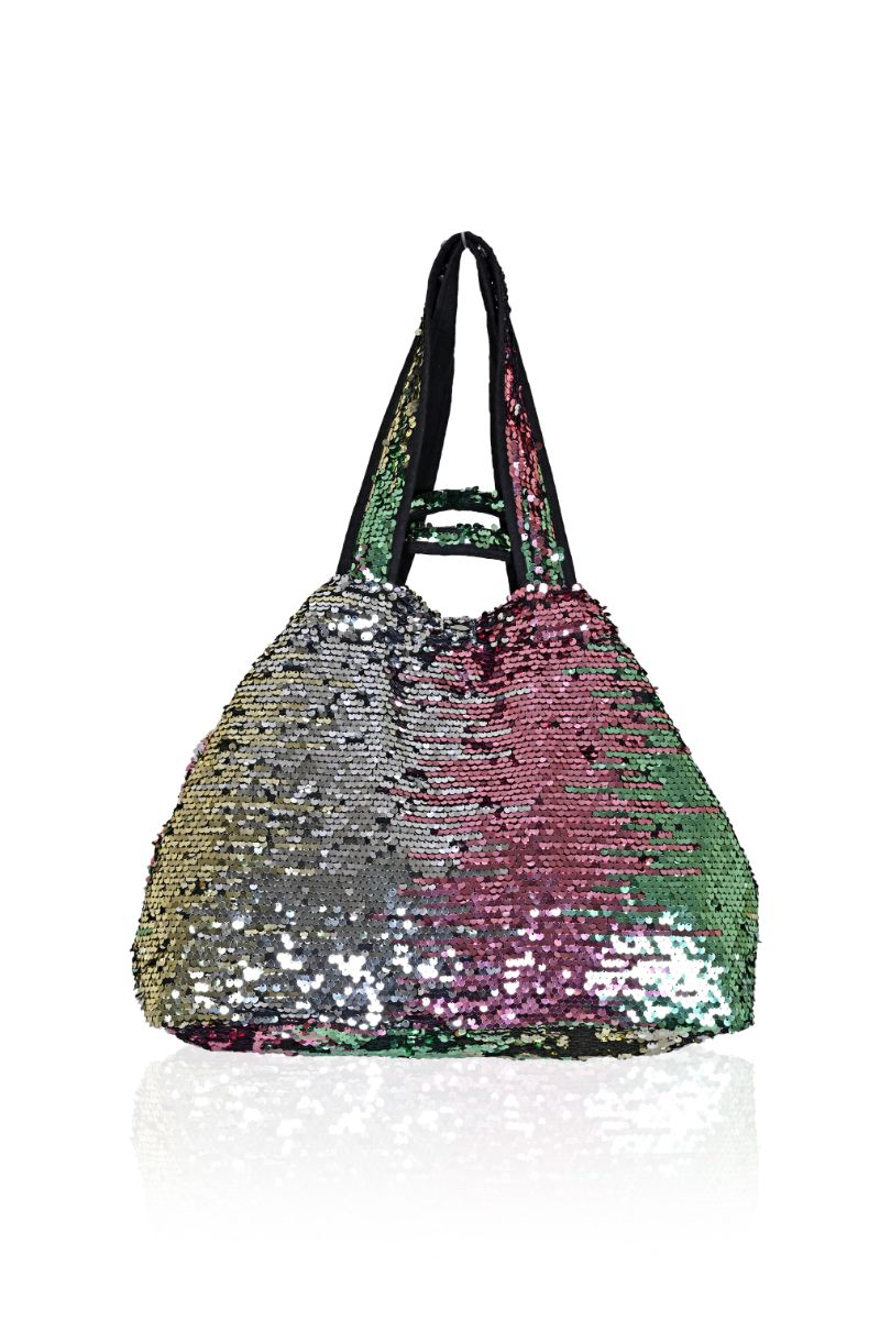 Show Stopper Sequined Watermelon Tote