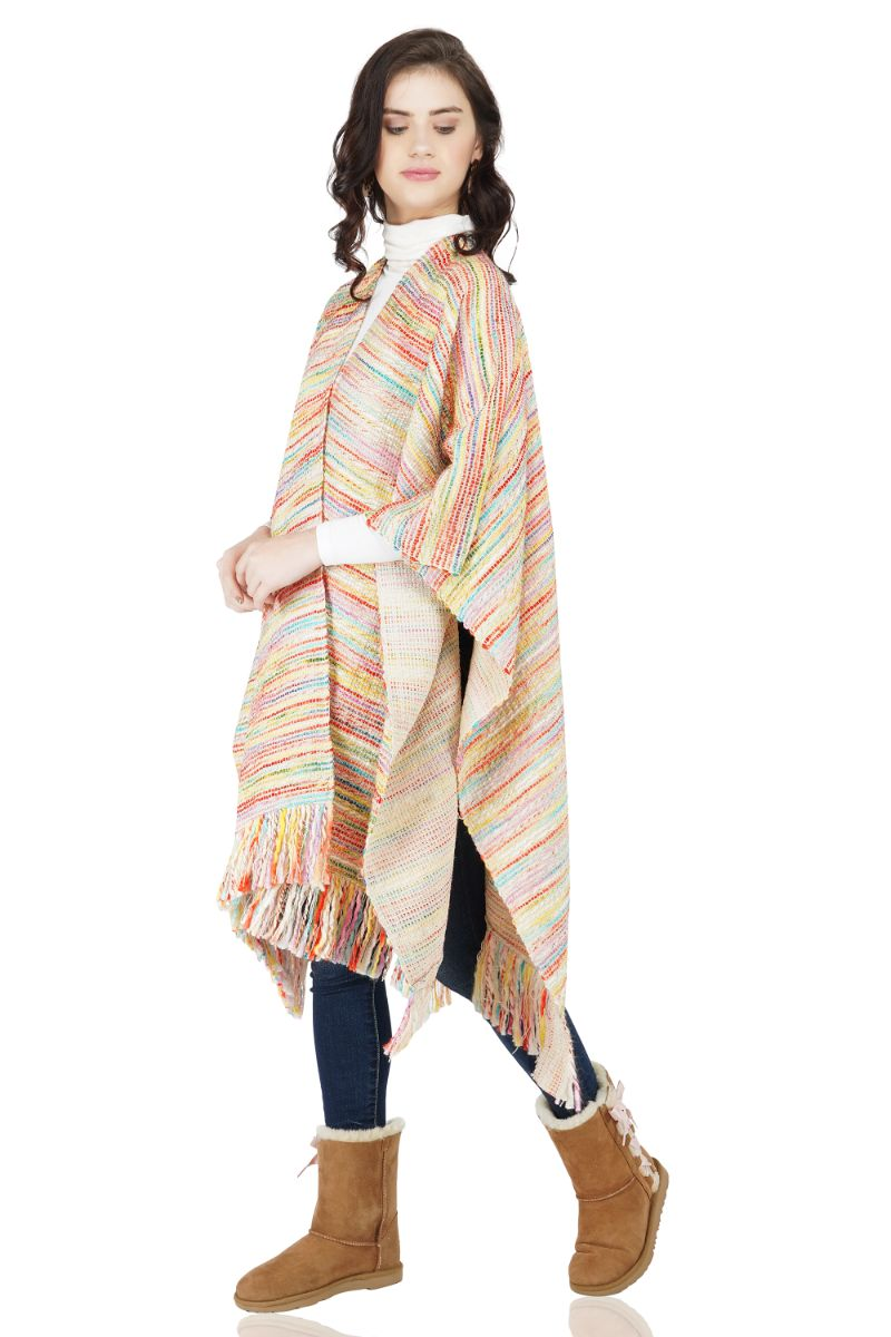 Cotton Candy Poncho