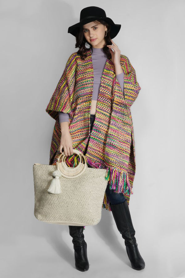Fall Flair Poncho