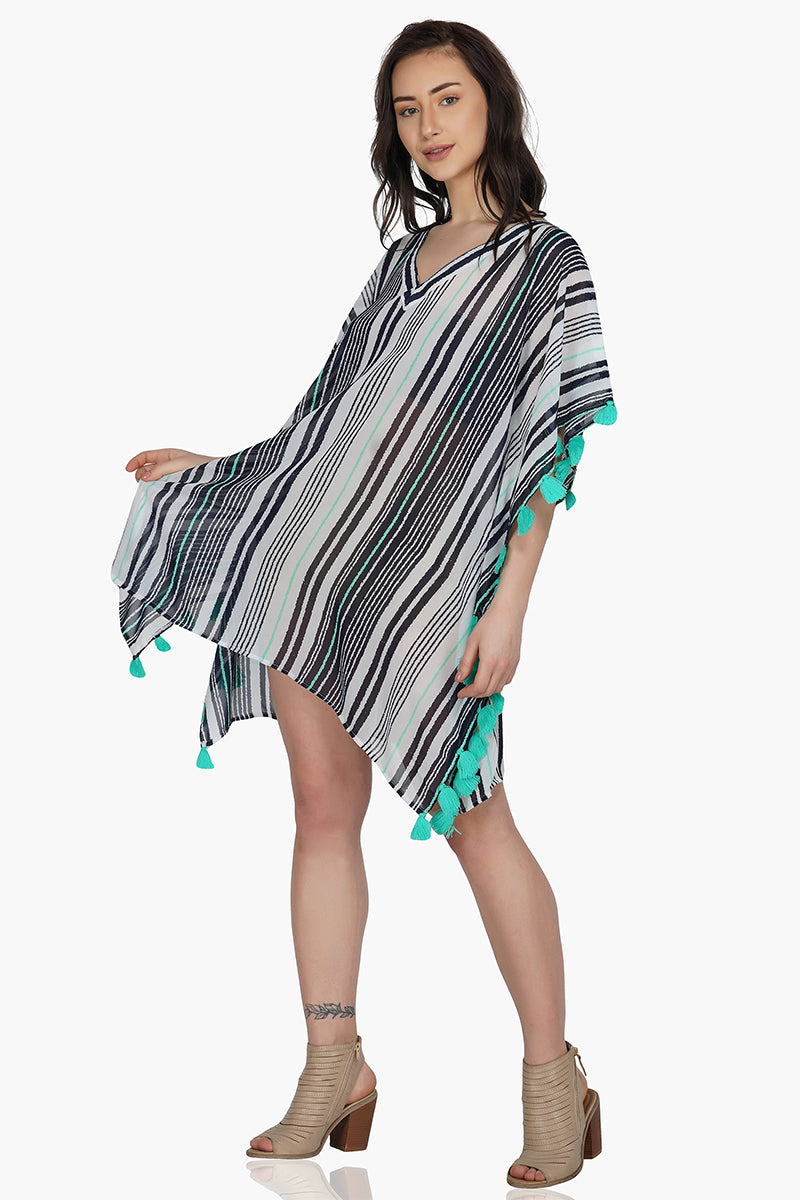 Insta Fab Striped Kaftan