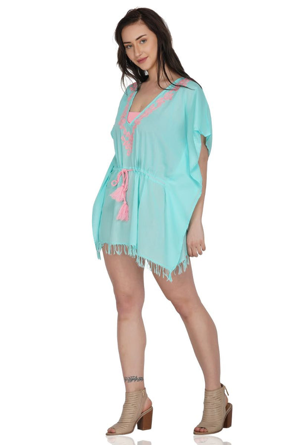Aruba Embroidered Kaftan