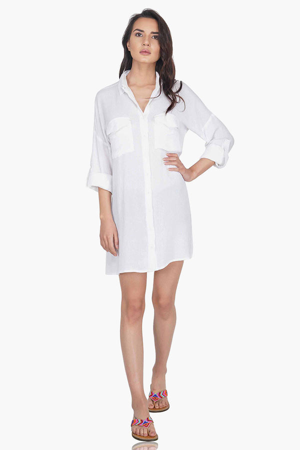 Boyfriend Oxford Cover Up