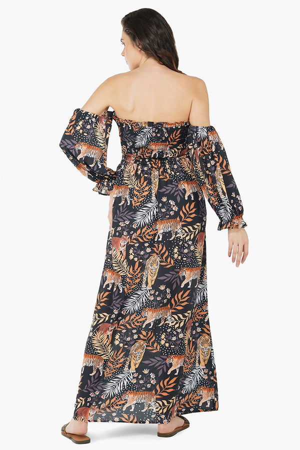 Bengal Tiger Maxi Dress